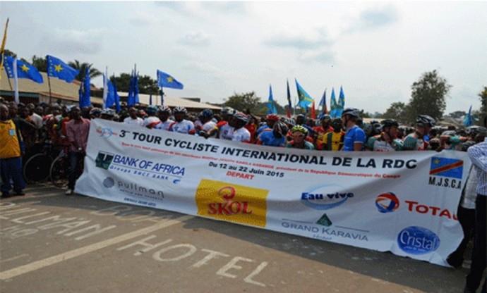 RDC : c'est parti pour le 3e Tour cycliste international