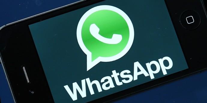 Un WhatsApp très politique