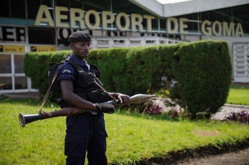 Attaque de l'aéroport de Goma en RDC