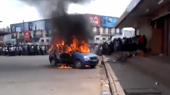 RDC : un homme s'immole par le feu pour protester contre le corruption policière