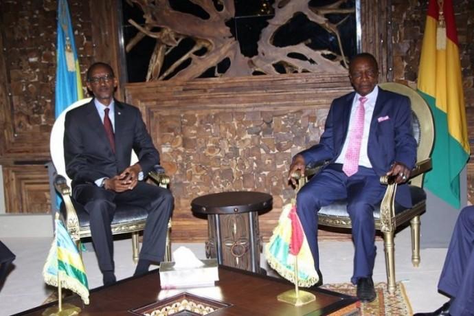 Le Rwanda et la Guinée Conakry deviennent partenaires