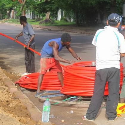 Fibre optique : fin imminente des travaux pour relier le Congo et le Gabon