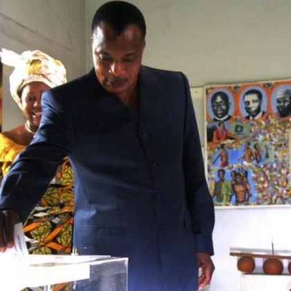 Denis Sassou Nguesso vainqueur de la présidentielle congolaise