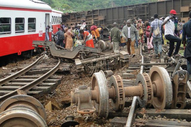 Accident ferroviaire meurtrier au Cameroun