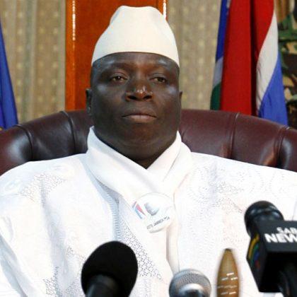 Exil guinéen pour Yahya Jammeh