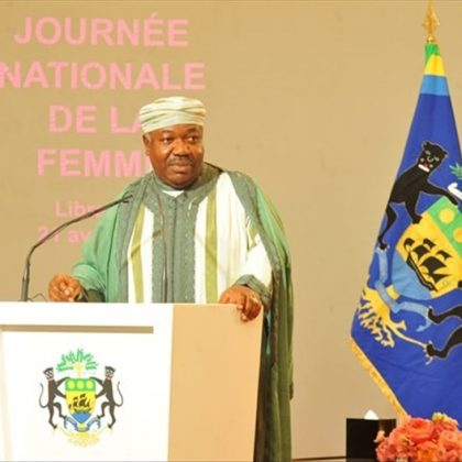 Les femmes gabonaises honorées par le président Bongo