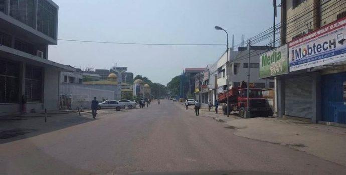 Succès pour la journée ville morte en RDC