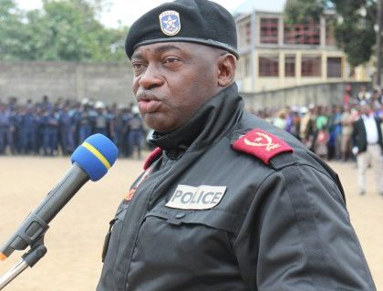 Suspension du chef de la police de Kinshasa