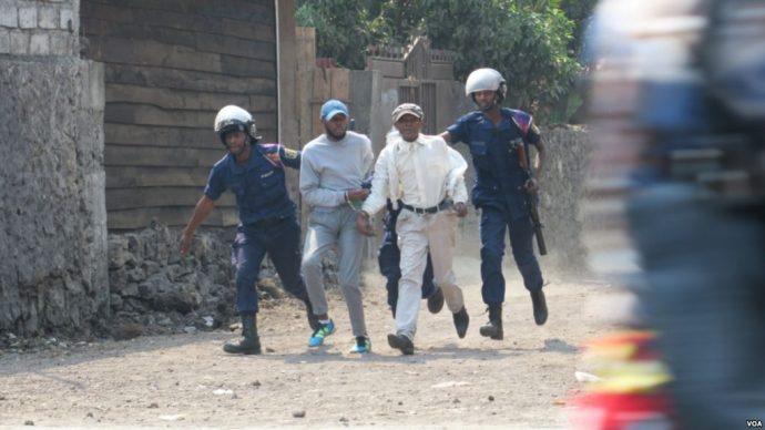 RDC : de nouvelles arrestations lors des manifestations anti-Kabila