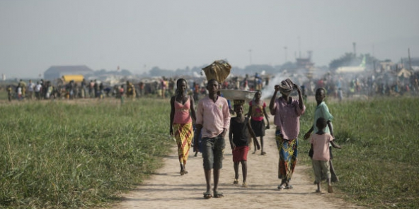 Un nombre de réfugiés sans précédent chassés par les violences en Centrafrique