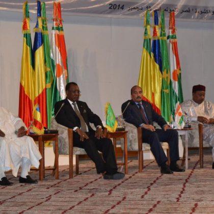 Les Etats-Unis appuient le G5 Sahel