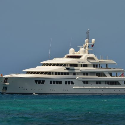 Le coûteux yacht de Teodorin Obiang