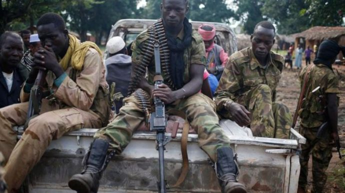 Centrafrique : des édifices publics incendiés par des rebelles à Kaga-Bandoro