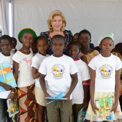 Dominique Ouattara et l'Afrique se mobilisent pour l'éducation