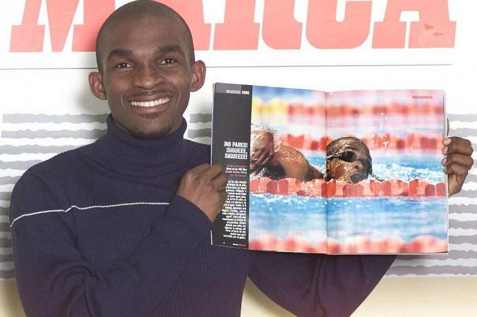Eric Moussambami : l'autre héro des Jeux Olympiques