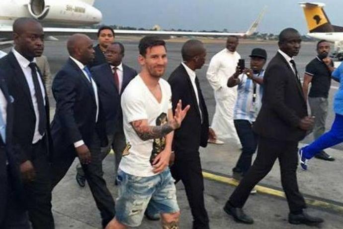 Lionel Messi instrument de rivalités politiques au Gabon ?