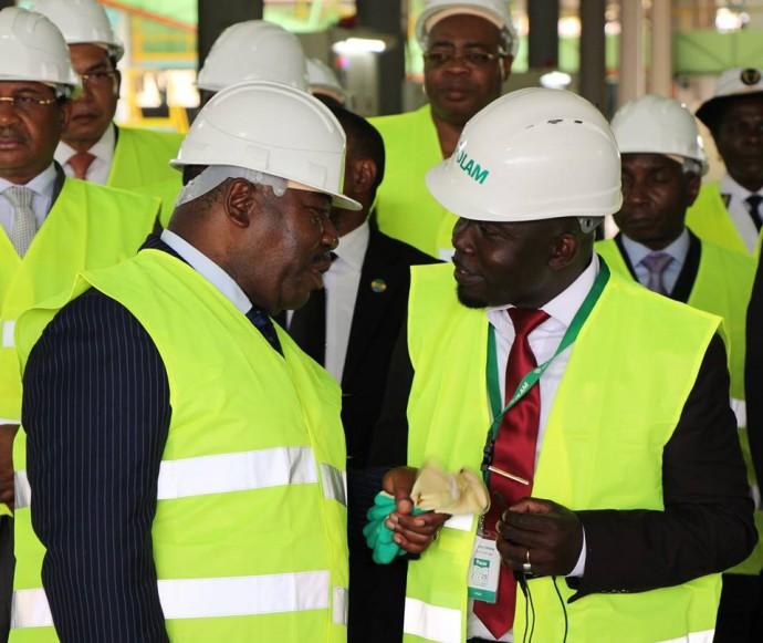 Gabon : Inauguration d'une usine de transformation d'huile de palme à Awala