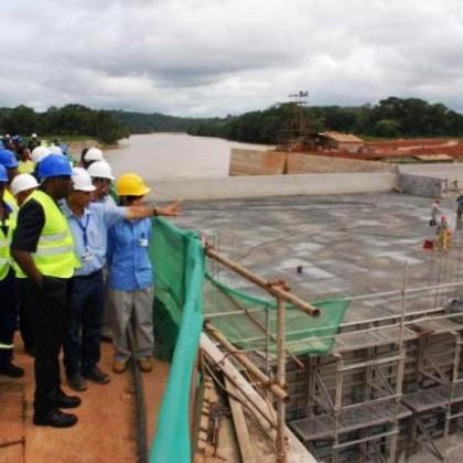 ENEO au secours du barrage de Song Loulou
