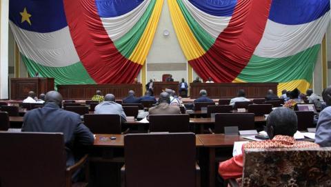 Projet de Constitution en Centrafrique