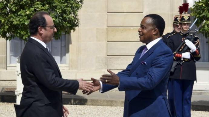 Le président de la République française soutient le référendum au Congo
