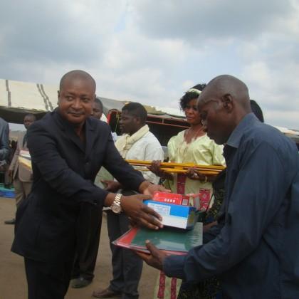 Ouverture de l'école Samuel Ikounga à Sibiti