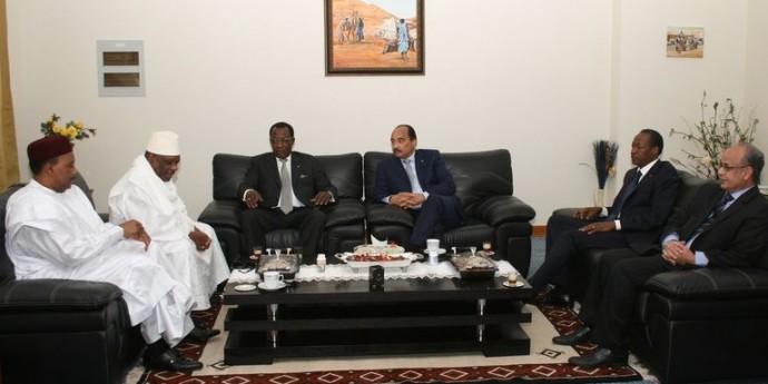 Tchad : les chefs d'État du G5 du Sahel annoncent la constitution d'une force conjointe