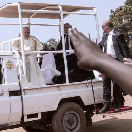 Le Pape François en visite en Centrafrique