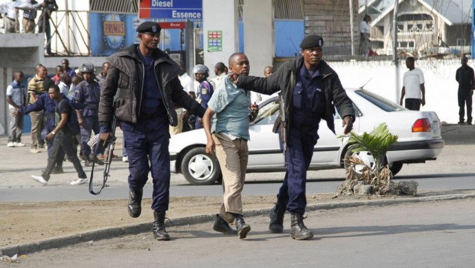 RDC : les arrestations continuent lors des rassemblements de Lucha