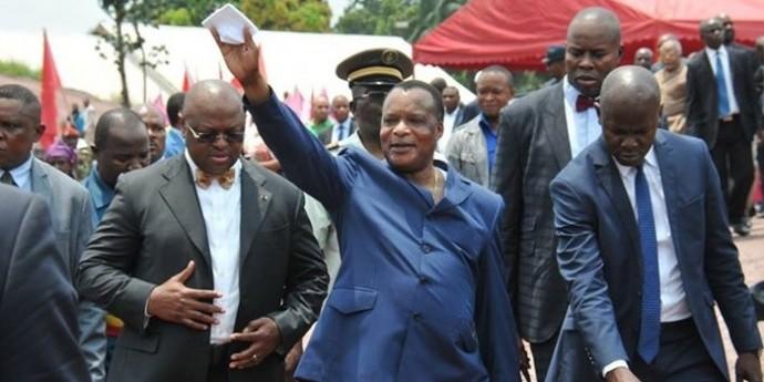Denis Sassou N'Guesso en tête de la présidentielle