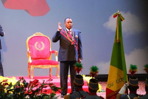Congo : Sassou Nguesso investi pour un nouveau mandat