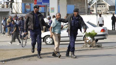 Quatre étrangers arrêtés à Lubumbashi en RDC durant les manifestations