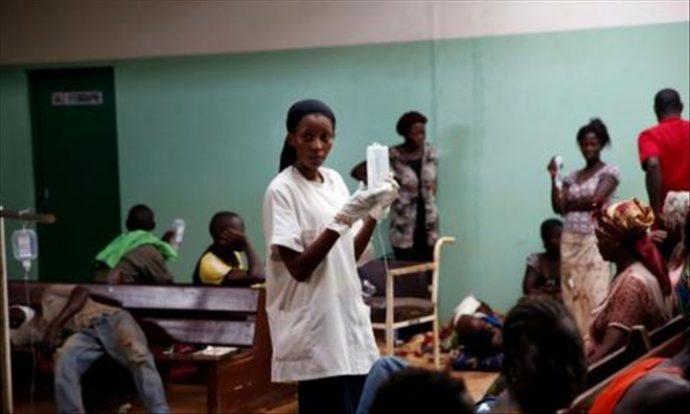 L'épidémie de choléra en RDC inquiète l'OMS