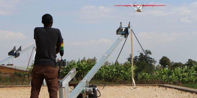 Rwanda : les drones sauveurs de vie