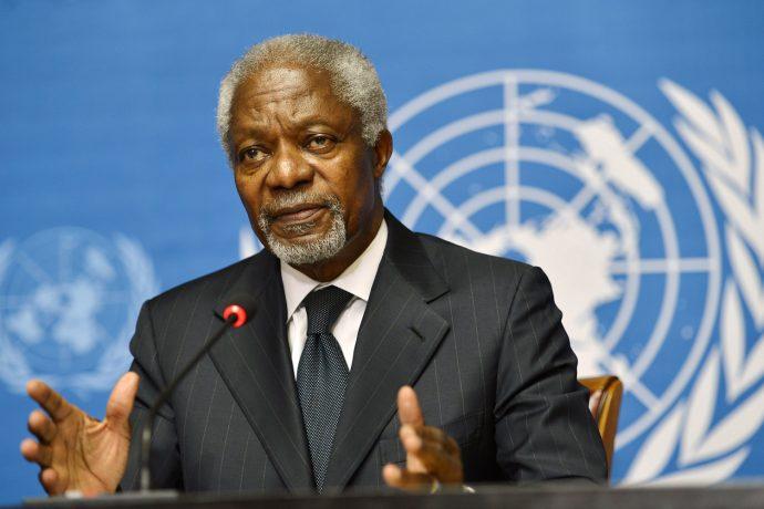 Kofi Annan pressenti comme médiateur pour un dialogue politique en RDC