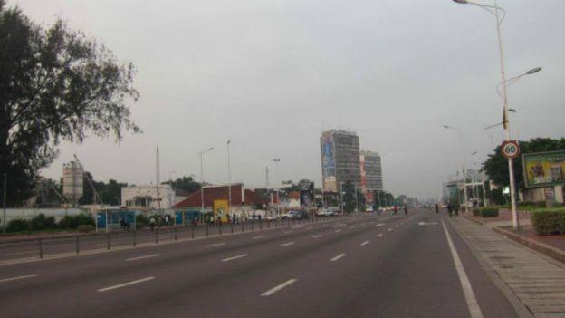 Journée « ville morte » à Kinshasa