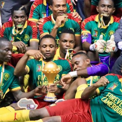 Le Cameroun remporte la CAN 2017