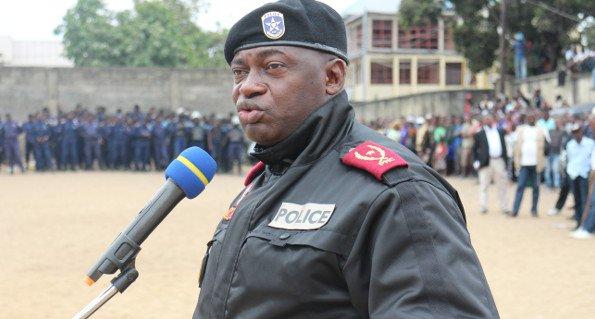 Suspension du chef de la police de Kinshasa