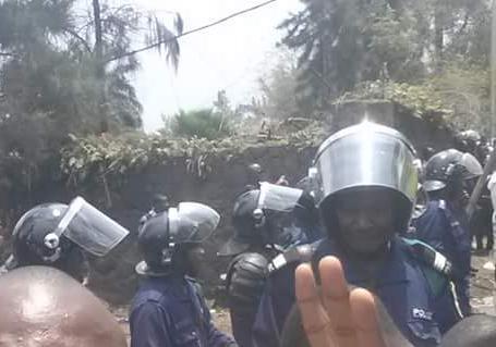 En RDC, un impressionnant dispositif policier.