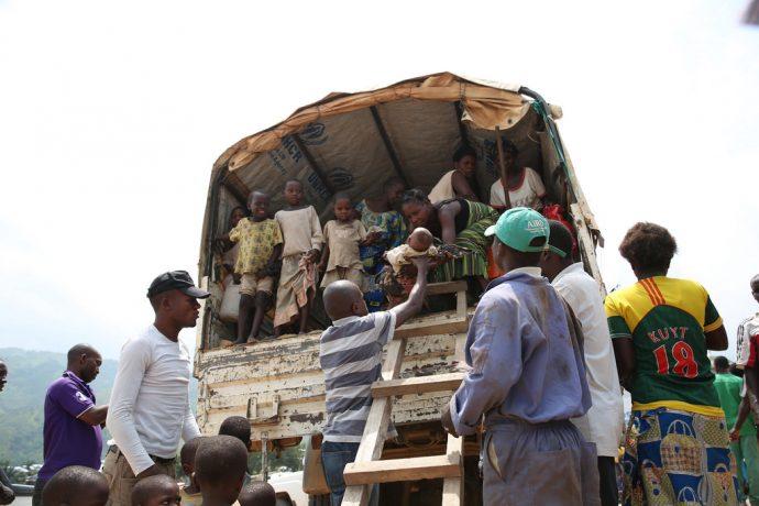 Des réfugiés congolais affluent au Burundi