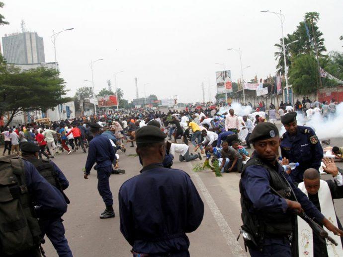 RDC : six morts lors des marches interdites à Kinshasa