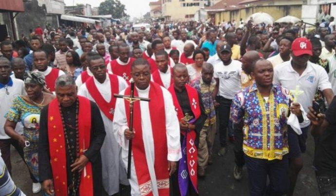 RDC : appel de l'Eglise avant une nouvelle marche pacifique