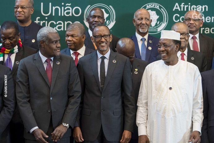 Accord historique de libre-échange signé à Kigali