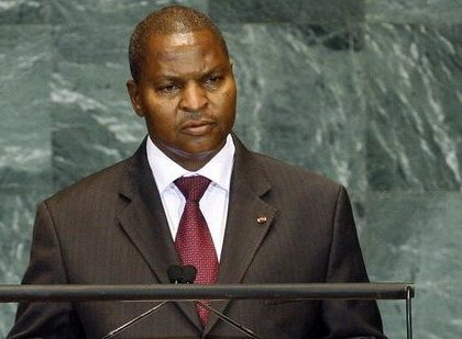 Le président de la République centrafricaine appelle à un renforcement des effectifs de la Minusca