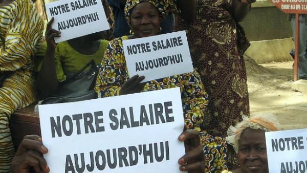 Tchad : risque d'une reprise de la grève des fonctionnaires