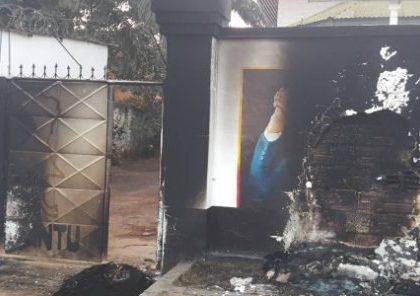Le siège du PND incendié à Lubumbashi