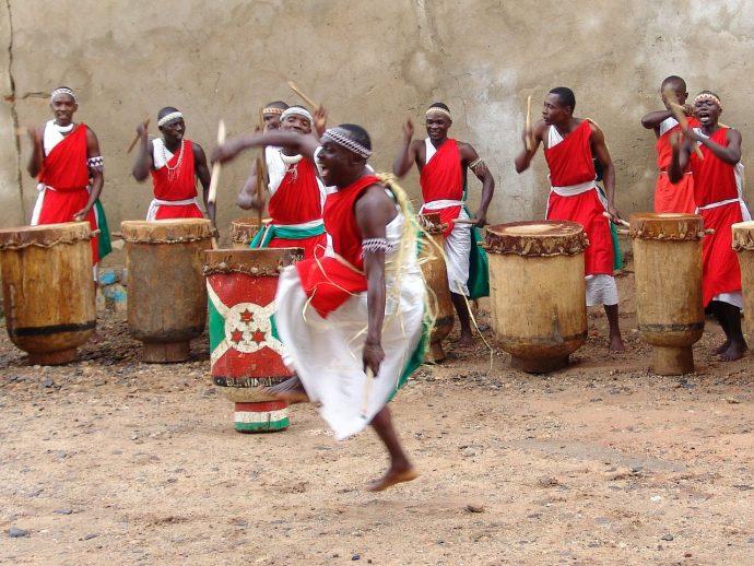 Les tambours de l'exil