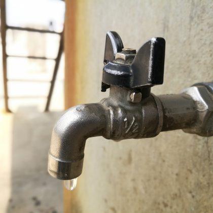 Une coupure d'eau qui fait tache