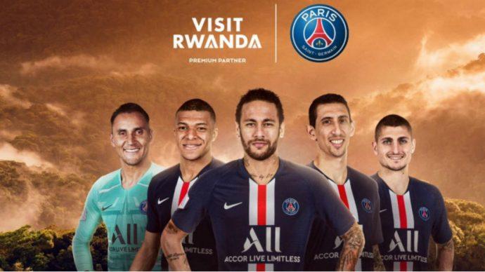 L'équipe de football du Rwanda conclue un accord avec le PSG pour promouvoir le tourisme