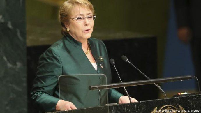 RDC : Visite de Michelle Bachelet, Haut-Commissaire aux droits de l'homme