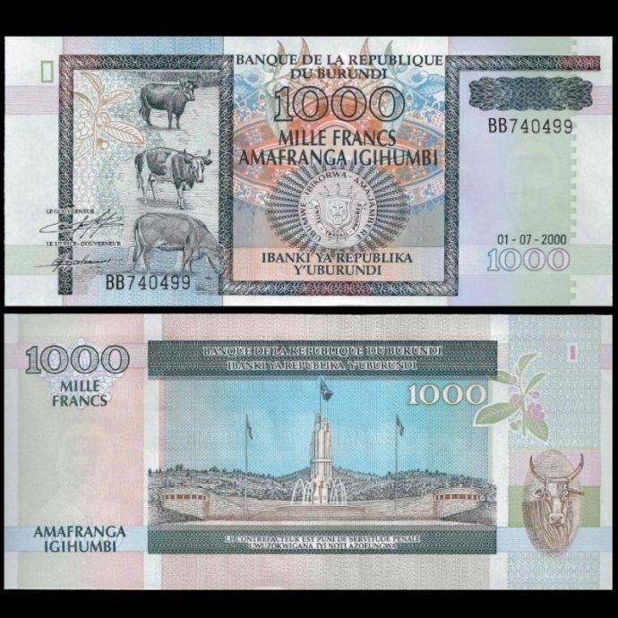 La banque centrale du Burundi interdit les bureaux de change pour avoir bafoué les taux officiels